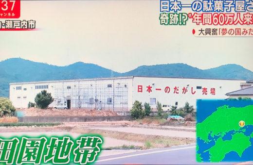 日本一の駄菓子売り場